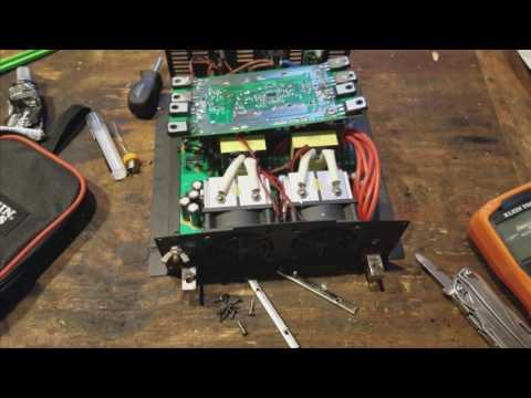 UrbanOffGrid30 2000W inverter repair, Works - смотреть