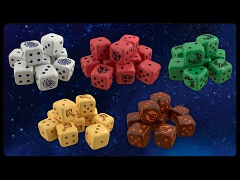 Star Trek Ascendancy - Faction Dice