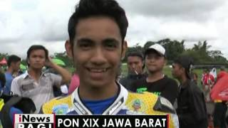 Tim Balap Motor Jabar Raih Emas Dan Perak Dicabang Balap Motor PON XIX 2016  INews Pagi 26/09