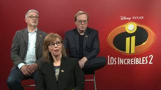 'Los increíbles 2', entrevista a Brad Bird, John Walker y Nicole Grindle