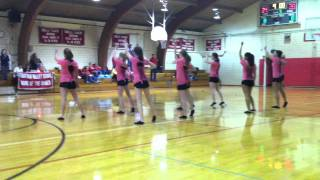 "FVS- ""Girls On The Dancefloor"" Winter-2012 Dance Team"