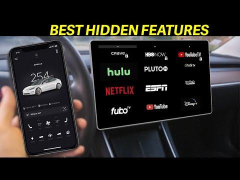 TOP Hidden Features! - Tesla Model 3