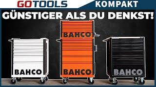 Günstiger & praktischer als gedacht | Bahco Werkstattwagen im Test