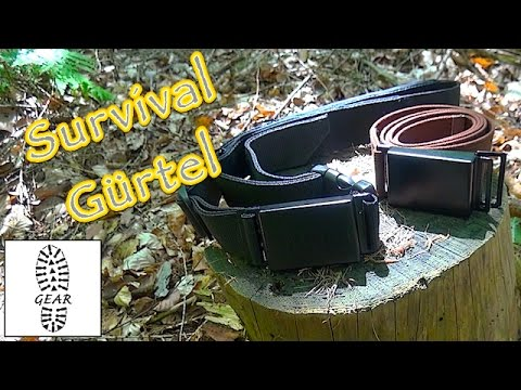 "Survival-Gürtel ""SiBelt + SiBelt-Mini"""