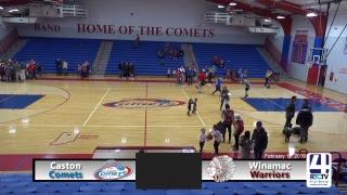 Caston Boys Basketball vs Winamac