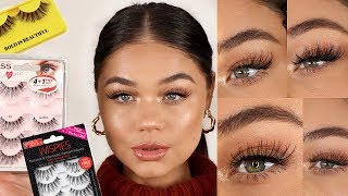 THE BEST LASHES | DRUGSTORE/AFFORDABLE 2019 | Blissfulbrii