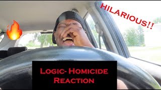 *Must Watch* Logic   Homicide Ft. Eminem Hilarious Reaction 🤣