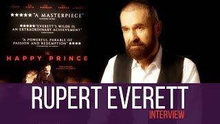 Rupert Everett INTERVIEW    The Happy Prince