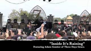 "Art Of Dying Feat. Adam Gontier - ""Inside It's Raining"" live at Edgefest, Little Rock, Arkansas"