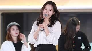 [4K] 190319 오마이걸 Oh My Girl 별이 빛나는 밤 Starry Night 효정 Hyojung @ 별이및나는밤에 By Sleeppage