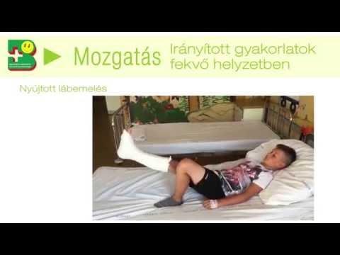 Boka ízületi kezelési gyakorlatok