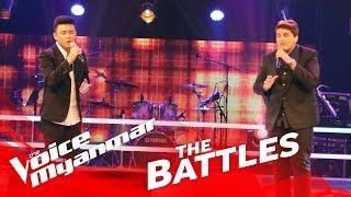 "Jason Ace vs. Mark Jason: ""All Of Me"" - The Battles - The Voice Myanmar 2018"