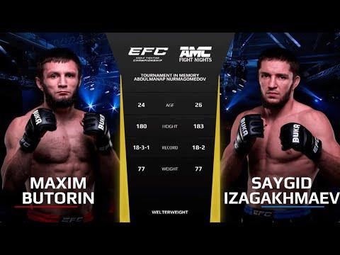 БЕЗ ШАНСОВ! Максим Буторин vs. Сайгид Изагахмаев / Maxim Butorin vs. Saygid Izagakhmaev