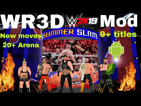 WR3D V9 1 (2K19 mod) WWE ,Released with download link BY GAMING