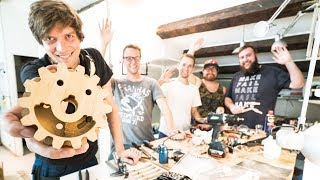 Workshop Tour with the Build Team - Marble Machine X #50