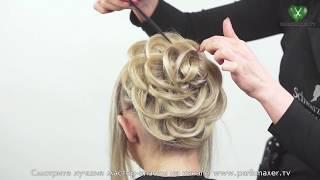 Причёски, Роза из волос