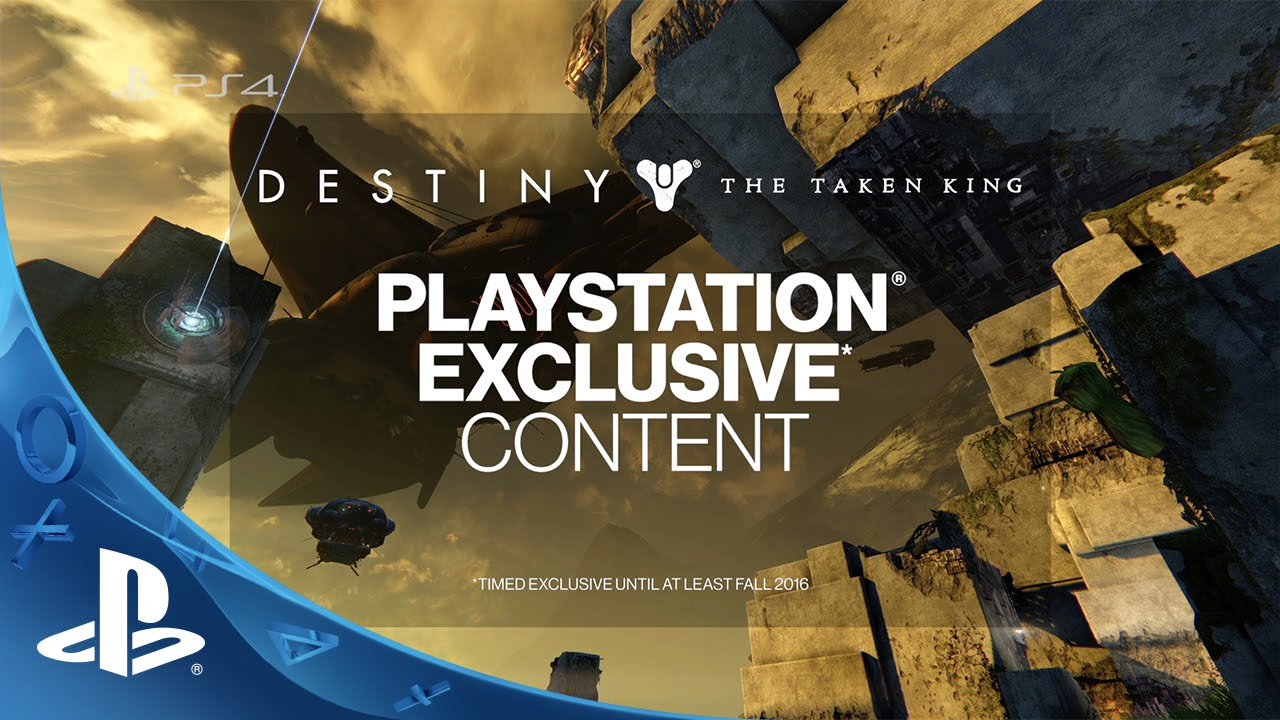 Destiny: The Taken King Exclusive Content Detailed