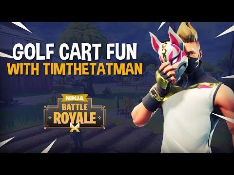 , title : 'Golf Cart Fun With TimTheTatman - Fortnite Battle Royale Gameplay - Ninja'