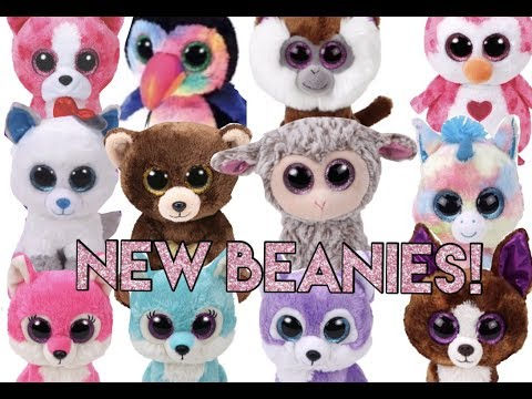 New Beanie Boos For 2017-2018!