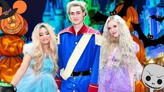 The Blonde Squad Goes To Disney World For HALLOWEEN