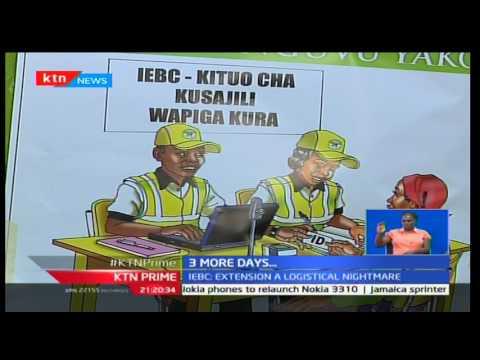 High Court Judge Chacha Mwita postposned the IEBC mass voter registration till Sunday 19th February