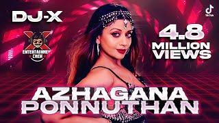 [DJ-X] Azhagana Ponnuthan Mix   Tamil Folk Hits • Exclusive New Year Mix (2021)