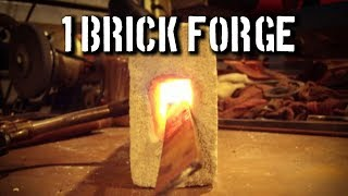 DIY Gas Forge: How To Build A Forge From Out Of Brick