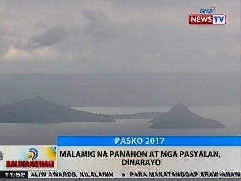 BT: Malamig na panahon at mga pasyalan, dinarayo