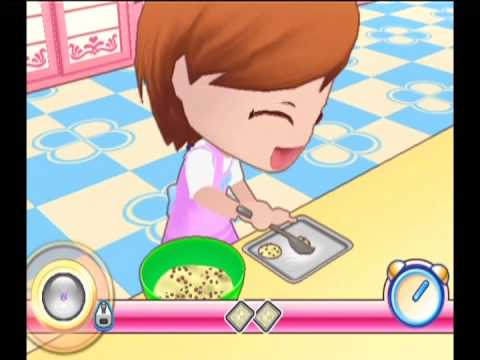 cooking mama wii video