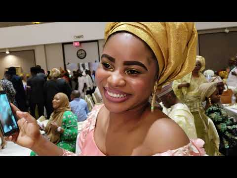 Sheikh Jamiu Ami Olohun dances in on his wedding day