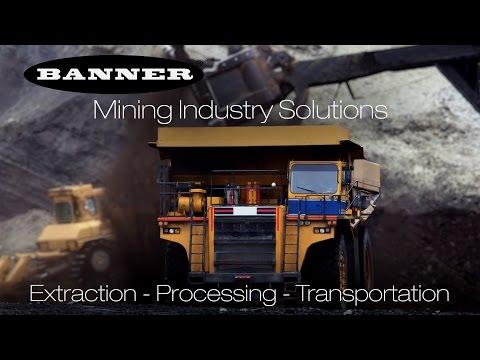 Solutions pour l'industrie minière