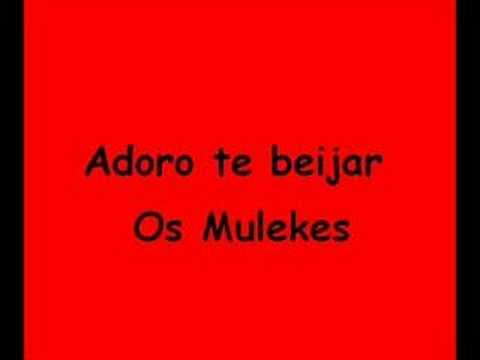 Música Adoro Te Beijar