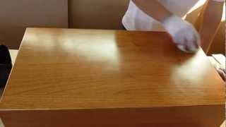 Pintando Mueble Con Mota De Algodon Y Estopa