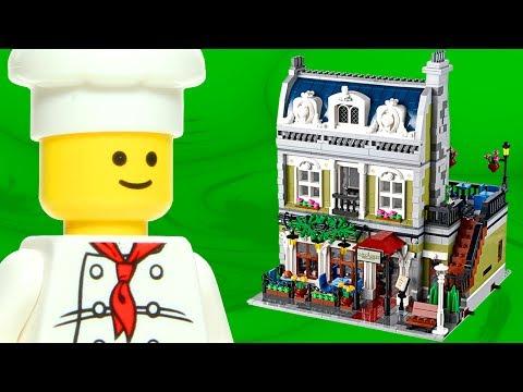 Vidéo LEGO Creator 10243 : Le restaurant parisien (Modular)
