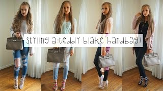 Outfits for a Designer Handbag ft. Caty Silver 12