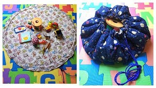 Spielzeugmatte / Spielzeugtasche
