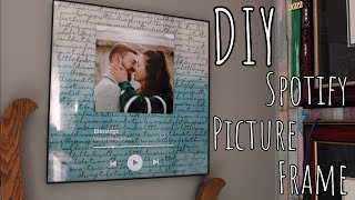 DIY | Spotify Picture Frame