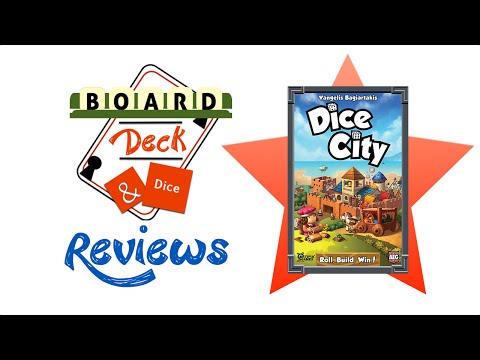 Board, Deck & Dice Review #41 - Dice City