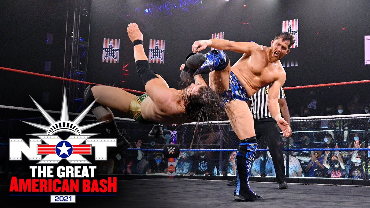 Adam Cole Vs. Kyle O'Reilly At The NXT Great American Bash