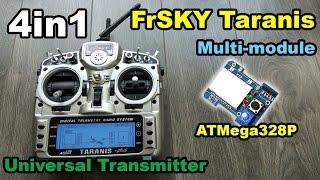 4in1 Multi Protocol Module For FrSKY Taranis From BangGood ATMega328P