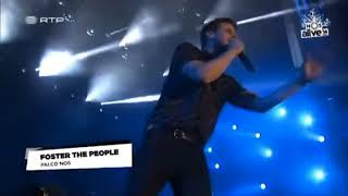Foster The People - The Truth (Live NOS Alive 2014)