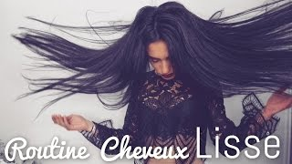 ♛ Ma ROUTINE Cheveux LISSE ! ┃GisèleRodrigues