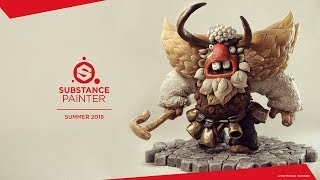 Substance Painter Summer 2018: Subsurface Scattering
