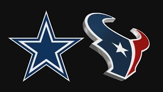 Dallas Cowboys Vs Houston Texans - Full Game - 10/05/2014