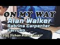 Alan Walker, Sabrina Carpenter & Farruko - On My Way(Piano Cover) | Song arr.JFla | 10 years old