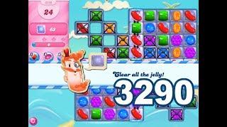 Candy Crush Saga Level 3290 (3 stars, No boosters)