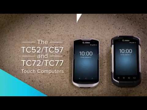 Zebra TC72 and TC77 Ultra-Rugged Touch Computer - Integrated Barcode Scanning video thumbnail