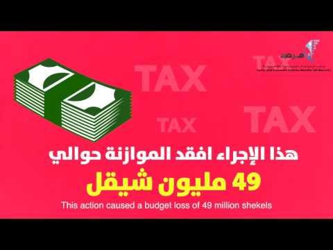 تراجع جباية الضريبة في فلسطين