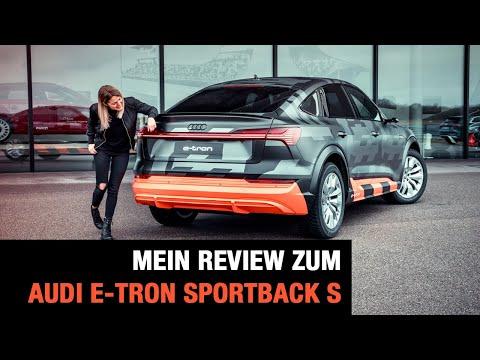 Audi e-tron Sportback S (2020) Review | Covert Drive | Fahrbericht | Test | Optik | Drift | Motoren