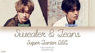 Super Junior D&E - Sweater and Jeans